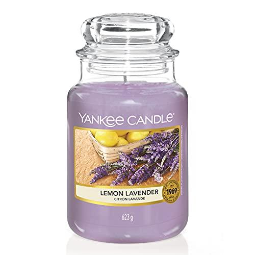 Yankee Candle 1073481EZ Large Jar Candle Lemon Lavender