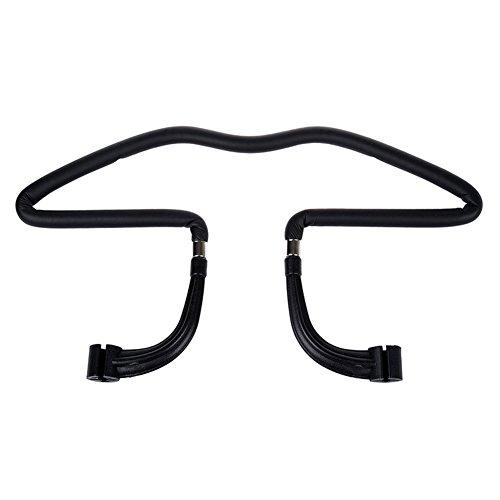 Support voiture cintre pour appuie-tête haodou Noir Veste shirts Cintres d'aspiration carte Chaise Retour cintre voiture Accessoires – Noir