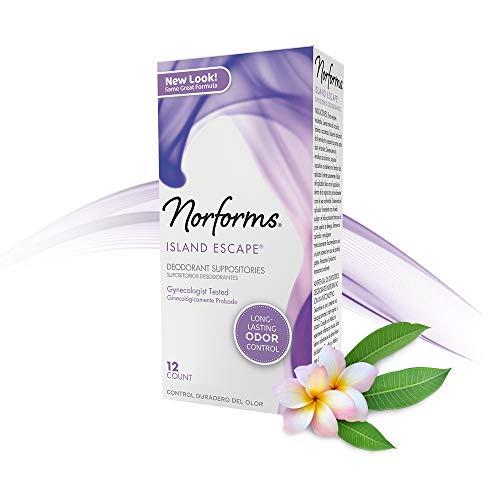 Norforms Feminine Deodorant Suppositories review