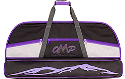 October Mountain Products Bow Case, Black/Purple, 36-Inch