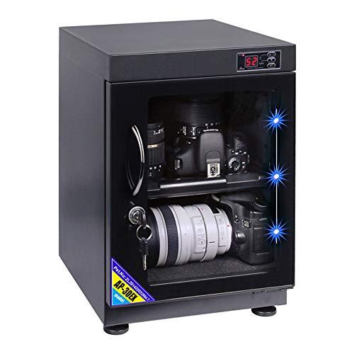 Kamera Entfeuchtung Kabinett - LED Numerische Kontrolle Meter geräuschlose Energieeinsparung - für Home Office Kamera Objektiv elektronische Geräte Lagerung (4w 30L)