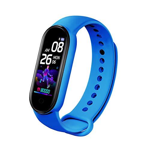 Reloj inteligente B30 Fitness Tracker para hombres y mujeres, monitor de frecuencia cardíaca, podómetro, contador de calorías, IP67 impermeable con pantalla HD de 0.96 pulgadas, regalo cálido