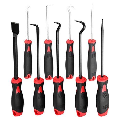 KSTE 9pcs Car-O-Ring Öldichtung Entfernen Puller Werkzeug Pick-Scraper Kit Haken