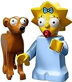 LEGO The Simpsons Series 2 Collectible Minifigure 71009 - Maggie Simpson (Santa's Little Helper)