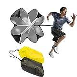 WLGREATSP Fully Functional Resistance Parachute, 42' inch Speed Training Resistance Parachute Chute Power Running Chute