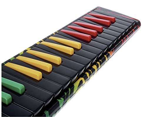 Hohner AirBoard Rasta 37 - Melodica inkl. Softcase