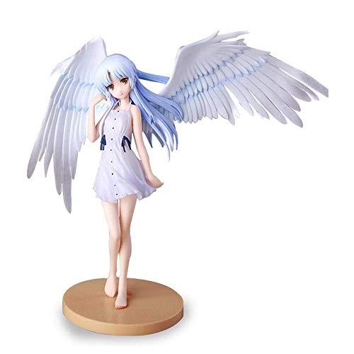 LCFF Figura Ángel Beats Anime Figure Tachibana Kanade Angel Action Statue 18cm Decoración Adornos Coleccionables Modelo Juguetes Doll Regalo para Niños Niñas Niños (Color : Angel)