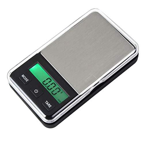 menolana Digital de Bolso Escalas Gram Escala de Alimentos Balança de Cozinha Balança Portátil Pequeno Mini Cozinha Escala de Alimentos Digital de Peso Gramas