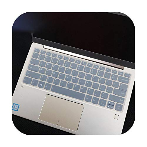 Funda para teclado para portátil Lenovo Yoga 720 de 12.5 pulgadas, Yoga C740 de 14 pulgadas, Flex 14, Flex 15 de 15.6 pulgadas, Ideapad 720S de 13.0 pulgadas, transparente