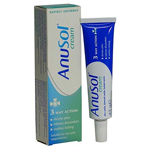 HayMax Anusol Cream Haemorrhoid Relief Cream 43g