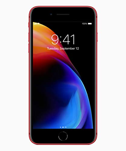 Apple iPhone 8 Plus, 64GB, Red -...