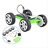 N/X Juguetes al Aire libreMini Solar Car Toys for Assembled Energy Solar Powered Toy Car Robot Kit Set Educational Toys