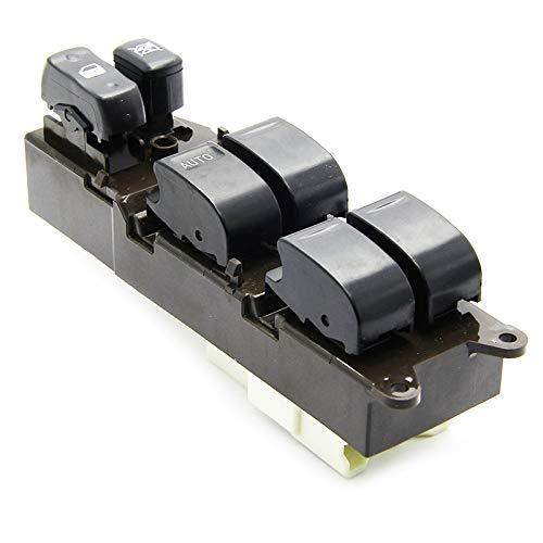 GLLXPZ Interruptor de La Botonera Elevalunas, para Toyota Land Cruiser 1998-2008,Electrónico Panel Interruptor de Botón