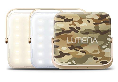 ルーメナー(LUMENA) LEDランタン LUMENA7 【明るさ 1300ルーメン】 迷彩グリーン LUMENA7-GRN