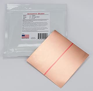 Copper 26 Gauge Sheet - 6