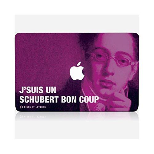 Skinkin Wandtattoo MacBook Pro 13Retina von zu Hause Design Original: Schubert durch Fists und Buchstaben