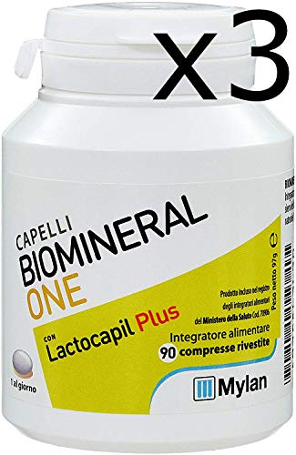Offerta Biomineral One - 3X Integratore con Lactocapil Plus da 90 Cpr (270 Cpr)