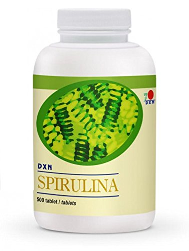 DXN Spirulina 500 Tablets (3 Bottle)