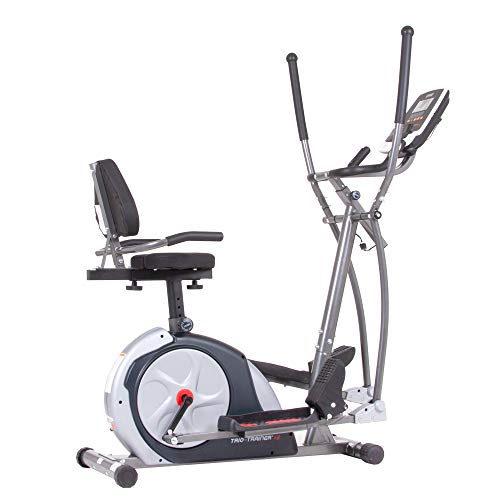 Save %6 Now! Body Champ 3-in-1 Exercise Machine, Trio Trainer Plus Two, Silver