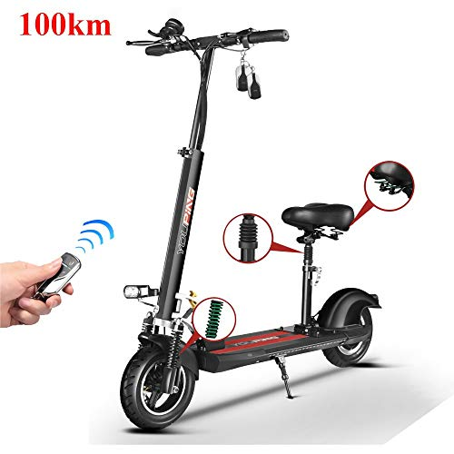 MRMRMNR Electric Scooter Adults, 48V 500W E-Scooter, Commuting Motorized Scooter Suitable for Adults Teenager, 110KM Battery Life, Intelligent Anti-Theft, 200KG Bearing,Cruise Control