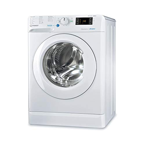 Indesit BDE861483XWUKN 8kg Wash 6kg Dry 1400rpm Freestanding Washer Dryer - White