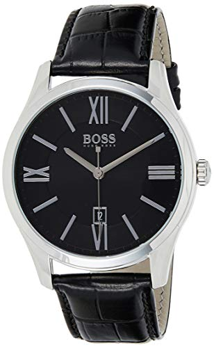 Hugo Boss Classic  - Orologio da uomo con movimento al quarzo, quadrante...