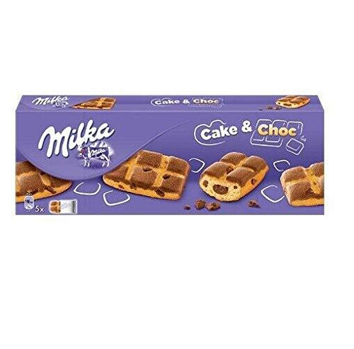 Milka CAKE & CHOC mit Sahne- und Schokoladennuggets 175g biscuits cookies