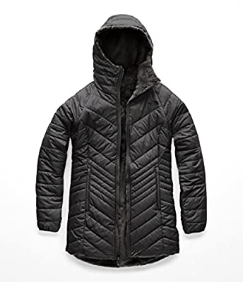 The North Face Women's Mossbud Insulated Reversible Parka - Asphalt Grey - XS