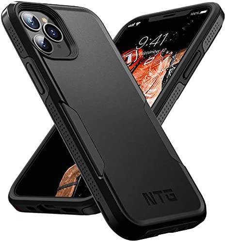 NTG [1st Generation] Designed for iPhone 11 Pro Max Case, Heavy-Duty Tough Rugged Lightweight Slim Shockproof Protective Case for iPhone 11 Pro Max 6.5 inch (Black)