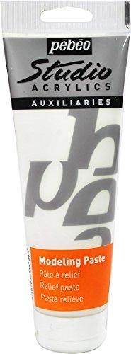 Pébéo 524130 Peinture Acryliques 1 Tube de 250 ml Blanc