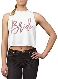 Bride Shirt Bachelorette Party Shirts Bridesmaid Proposal Gifts Bridal Party Tshirt Bridesmaids Shirts Custom Women Cropped Tank Tops