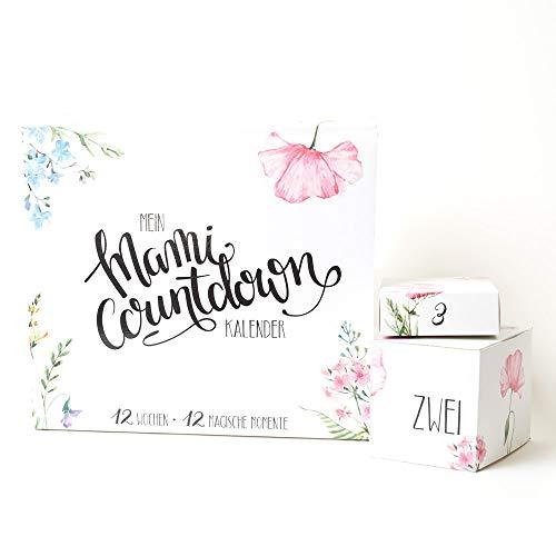 Mami Countdown Kalender – Verwöhnbox für werdende Mamas