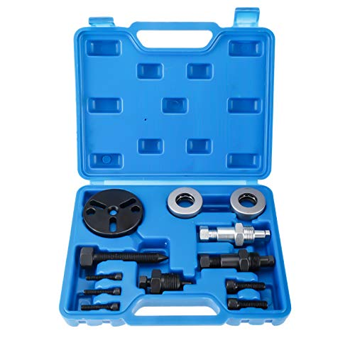 BTSHUB Air Compressor Clutch Rebuild Removal Tool Kit AC Clutch Puller Remover Installer Set CAR AUTO AIR Conditioning for GM, fit for Ford, fit for Chrysler