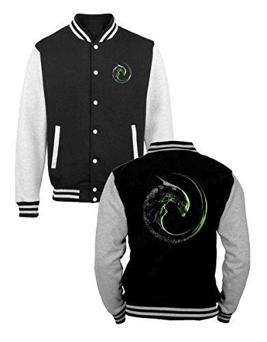 Alien Baseball Varsity Jacket Alien 3 Size S Geek Store Sweaters