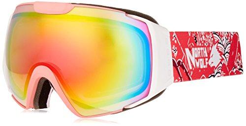 North Wolf Women OTG REVO Spherical Lens Ski Goggles Pink