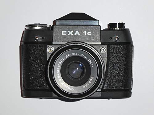 Fotocamera EXA 1c – Fotocamera reflex analogica – SLR – incl. obiettivo TESSAR 2.8/50 Carl ZEISS JENA DDR – Colore Nero – Tecnica testata – by Photoshotblit # #