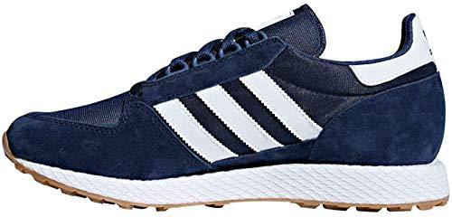 Adidas Originals Forest Grove Hombre Zapatillas Deportivas Azul Marino/Blanco 45 EU