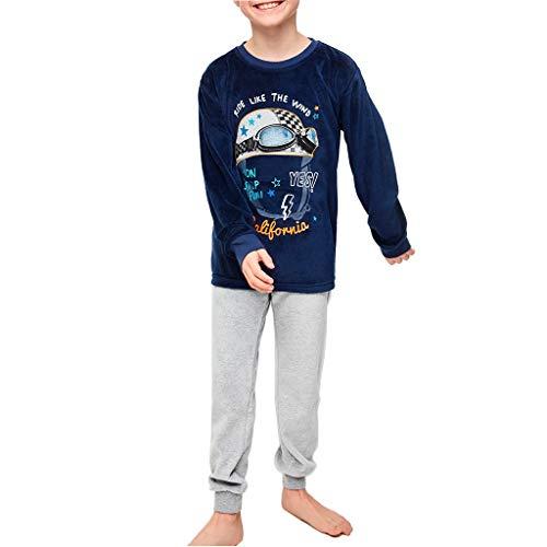 Tobogan - Pijama Juvenil niño de Manga Larga yundosad
