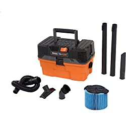 Ridgid 4.5 Gallon Pro Pack Portable Wet/Dry Shop Vacuum