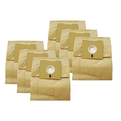 Baoblaze Lote de 6 microfiltración de Repuesto, Bolsas de Polvo para aspiradora aptas para Bissell 4122, 2154A,1668,1668W