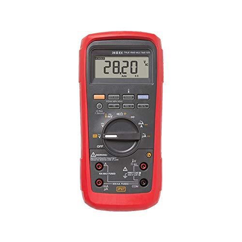Elektrischer Multimeter 28 II Ex-eigensicheres IP67-True-RMS-Multimeter-Volt-Ampere-Ohm-Messgerät YHWCUICAN