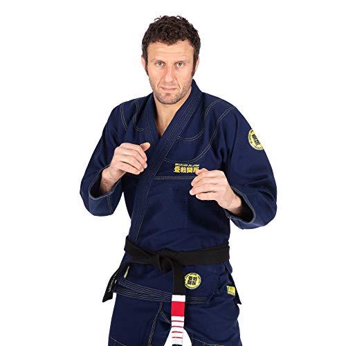 Tatami Fightwear Essential Gi 2.0 - Azul marino |A1| Gimnasio, Entrenamiento, Jiu Jitsu, Grappling, BJJ, MMA