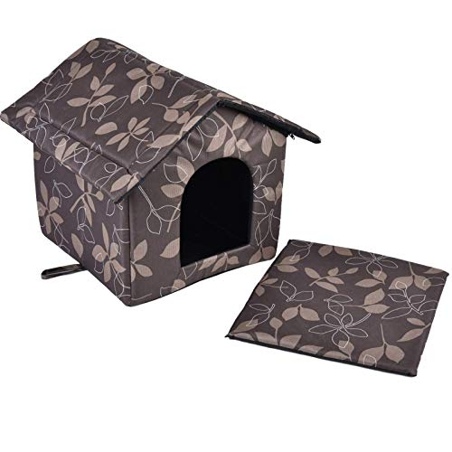 Pet Products Outdoor House - Refugio impermeable para perros