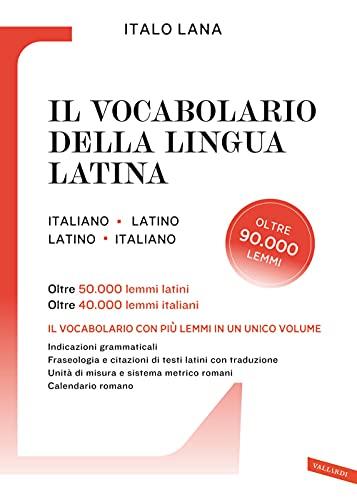 Il vocabolario della lingua latina