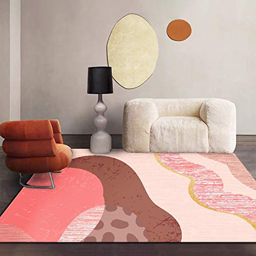 ZAZN Modern Nordic Light Luxury Carpets Are Suitable For Living Room Sofas, Coffee Tables, Bedrooms, Bedside Mats, Waterproof Thickening Entry Porch Floor Mats
