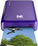 Kodak Mini 2 HD Wireless Portable Mobile Instant Photo Printer, Print Social Media Photos, Premium Quality Full Color Prints – Compatible w/iOS & Android Devices (Purple)