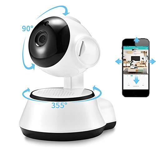 LIMUZI Monitor de Bebé, Inicio de Cámaras de Seguridad IP Cámara Inalámbrica Wi-Fi Inteligente, WI-FI Grabación de Audio de Vigilancia Baby Monitor HD Mini Cámara