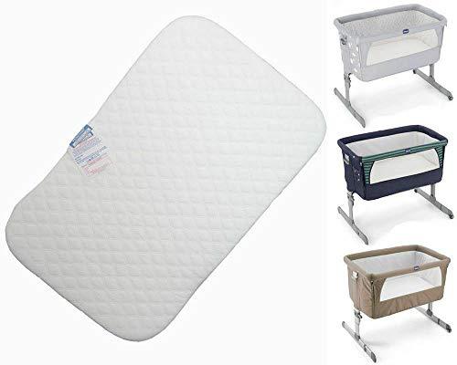 Comfortos Next to Me - Materasso per culla, 83 x 50 x 5 cm, anallergico, non tessuto
