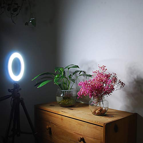 Gemwon Ring Light 6 Inches - 3 Color Lights