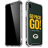 Skinit Clear Phone Case Compatible with iPhone XR - Officially Licensed NFL Green Bay Packers Team Motto Design